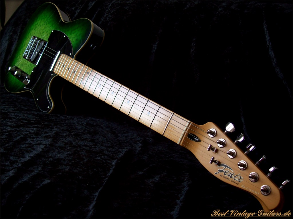 Best Vintage Guitars - Fenix Telecaster Custom